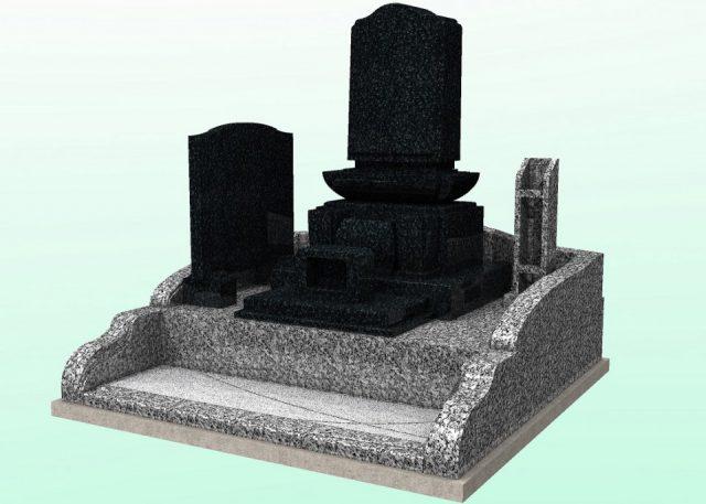 画像:上田市 お寺様墓地 新設工事